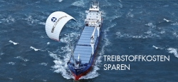 "Skysails already equips ""small"" general cargo vessels"