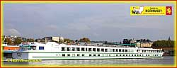 The M/S BOTTICELLI is one of the three river cruise ships aligned by CroisiEurope on the Seine